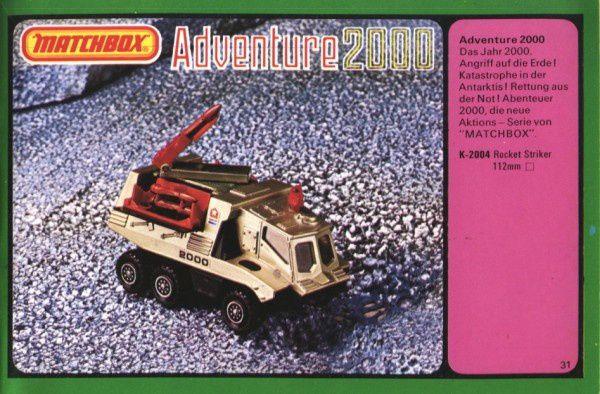 catalogue matchbox 1977 p31 adventure 2000