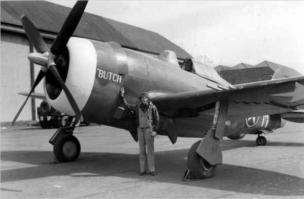 61st Fighter Squadron. P-47C