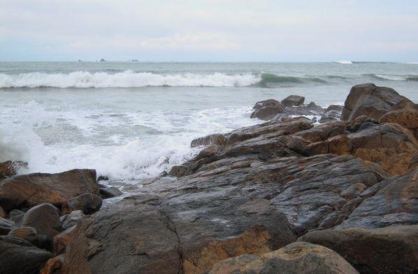 marée descendante