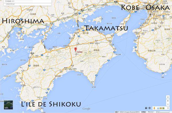 Map Oboke