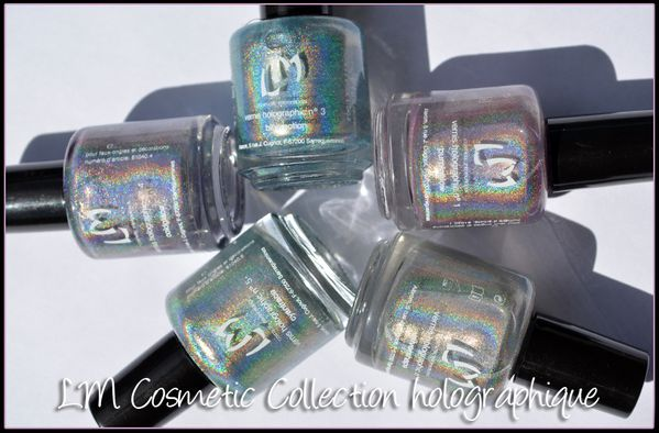 LM Cosmetic Vernis holographiques