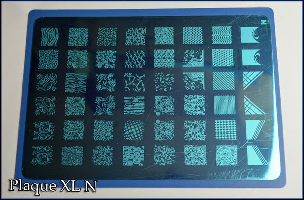 Plaque Stamping XL N