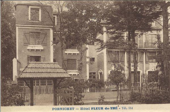 CPP 1799 PORNICHET HOTEL FLEUR DE THE MLB