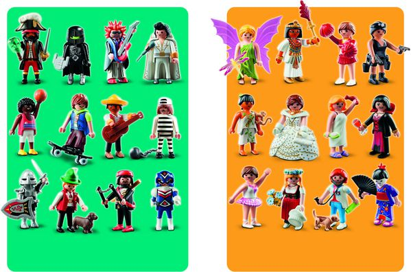 Playmobil Figures 2 large
