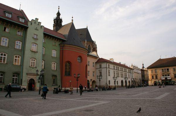 Cracovie place maly rynek-pologne (30)