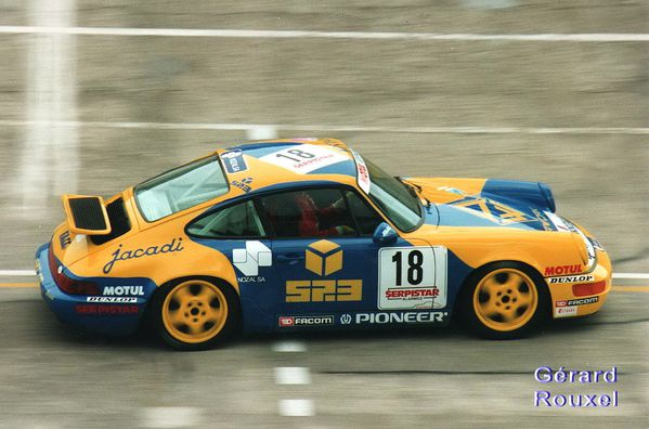 A 90 Porsche Cup Fortunati Montlhéry avril 1993 Coupes de