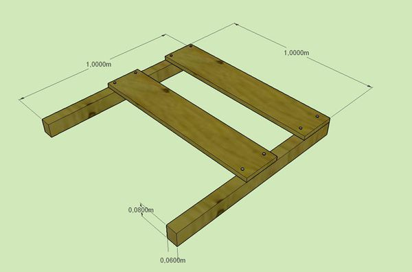 Comment implanter une construction explications images 3d for Chaise construction