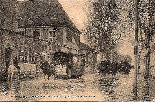 carte inondations.Bourges
