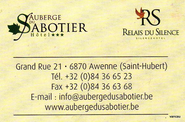 Auberge du Sabotier 6 007