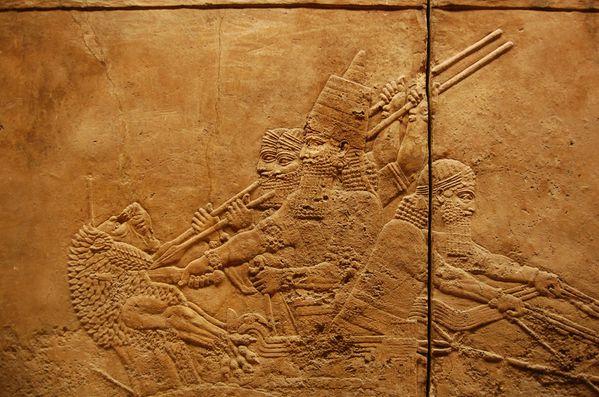 Ninive nineveh chasse au lion palais d'assurbanipal (2)