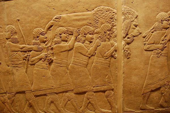 Ninive nineveh chasse au lion palais d'assurbanipal (7)