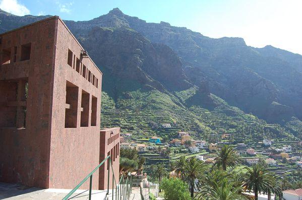 Canaries La Gomera Valle del Grand Rey Cimetiere