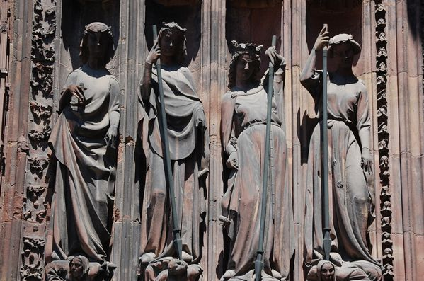 Strasbourg cathedrale sculptures (10)