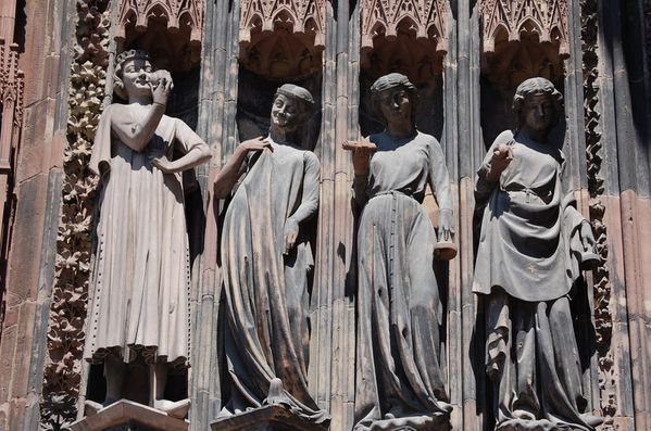 Strasbourg cathedrale sculptures (5)