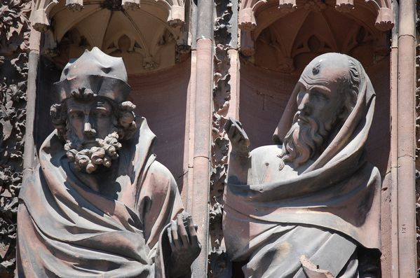Strasbourg cathedrale sculptures (7)