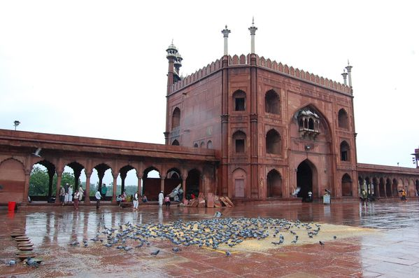 Delhi mosquee Jama Masjid (4)