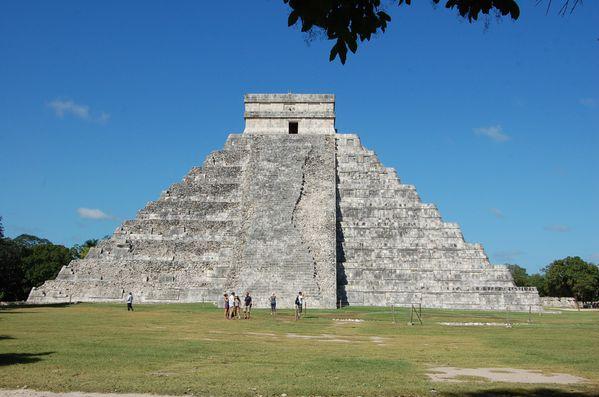 Mayas Chichen Itza pyramide de Kukulcan