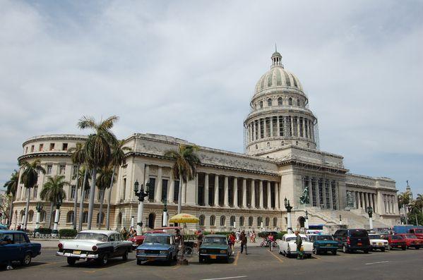 Cuba La Havane El Capitolio (2)
