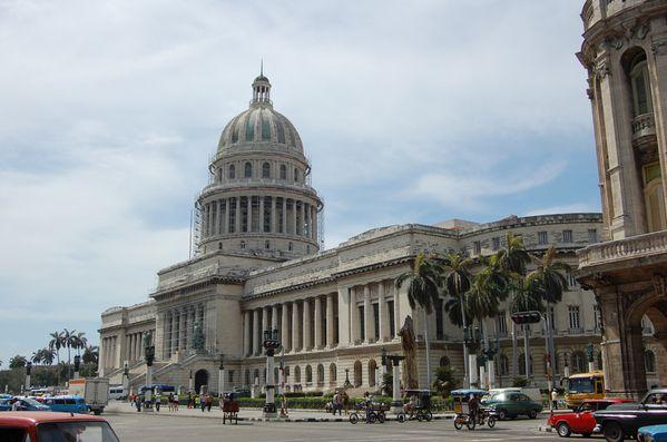 Cuba La Havane El Capitolio (3)