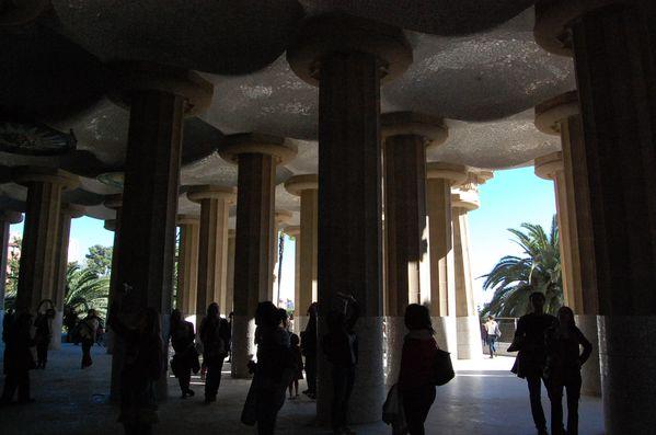 Barcelone Parc Güell gaudi
