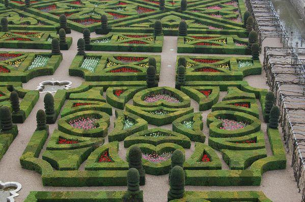 Jardin du chateau de Villandry (3)