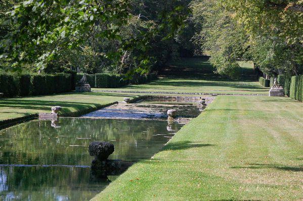 Ile de france jardins du ch teau de courances lankaart for Jardins remarquables ile de france