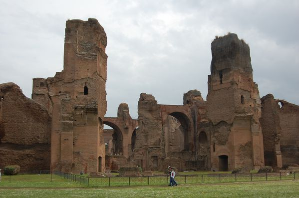 Rome thermes de baths of caracalla