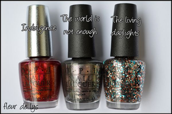 OPI Skyfall Collection