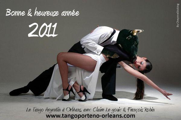 Tango Argentin Orléans - Voeux 2011