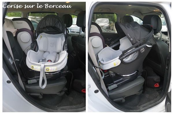 test le si ge auto de l 39 orbit baby g3 cerise sur le berceau. Black Bedroom Furniture Sets. Home Design Ideas