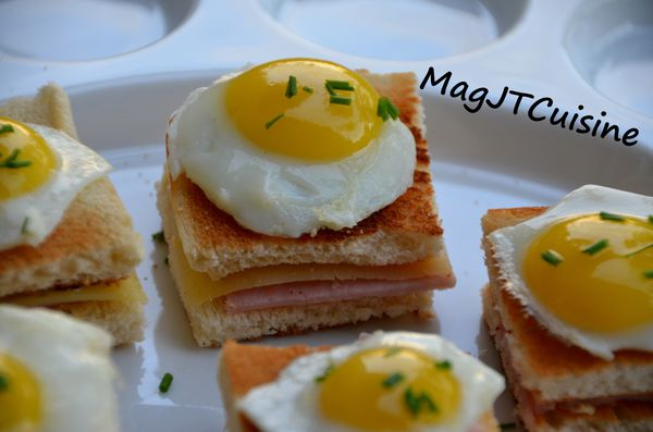 mini croque madames mini croque madame with quails mini croque madame ...
