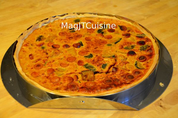 quiche ratatouille saucisse 1