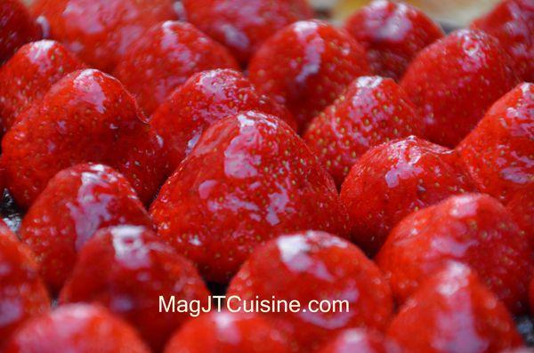 tarte fraise chocolat 2