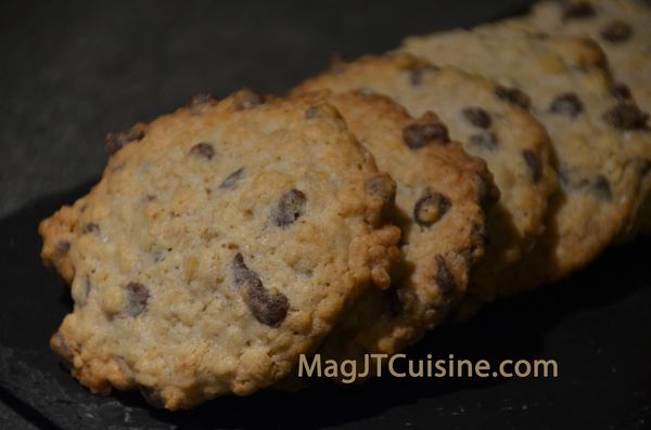 cookie au flocon d'avoine 1