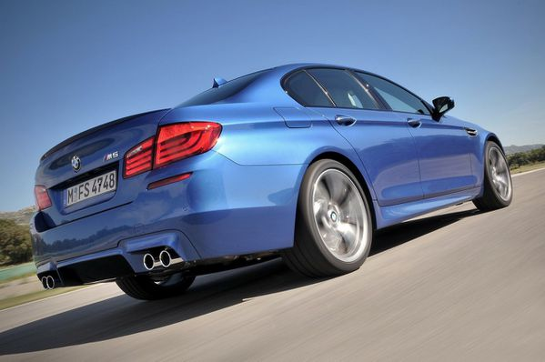 Nouvelle BMW M5 2012 11