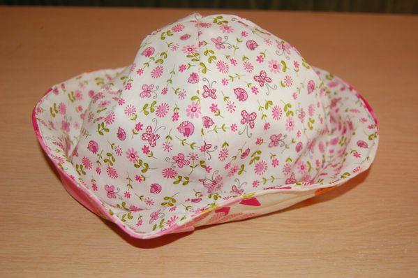 chapeau fait maison