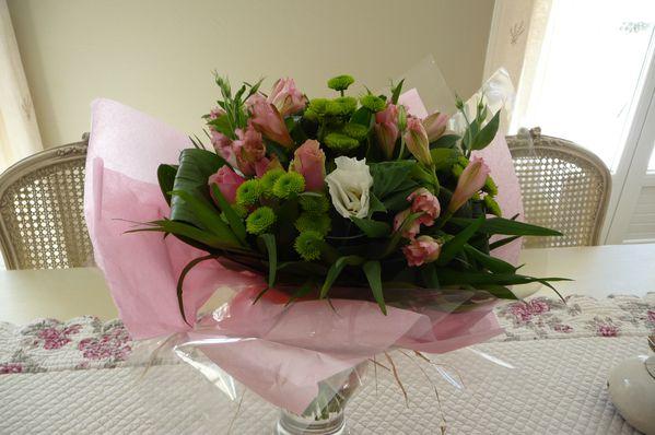 Bouquet de fleurs 48 ans mariage 001