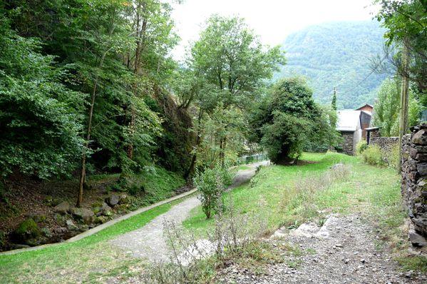 Chemin qui mène à la cascade