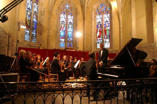 photo orchestre d auvergne à st-bonnet-le-chastel