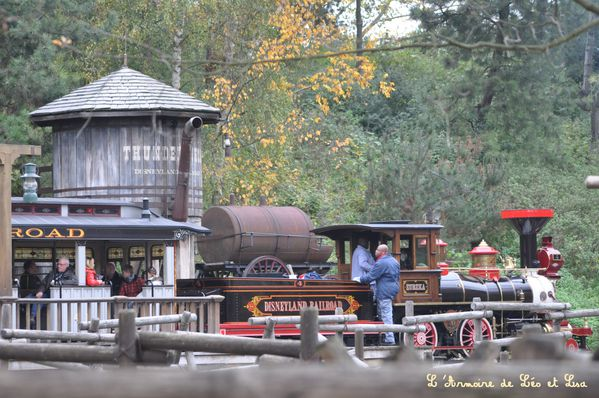 Train disneyland paris