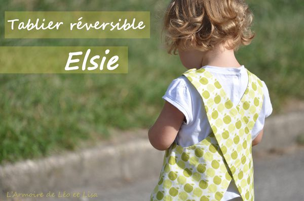 Tablier reversible Elsie