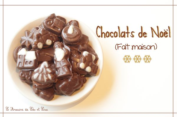 Des chocolats de no l fait maison pour la ma tresse - Faire un sapin de noel en chocolat ...