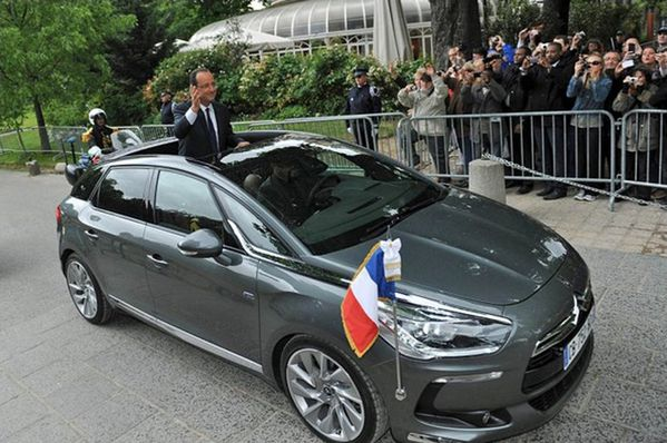 Citroën DS5 Hybride François Hollande 04
