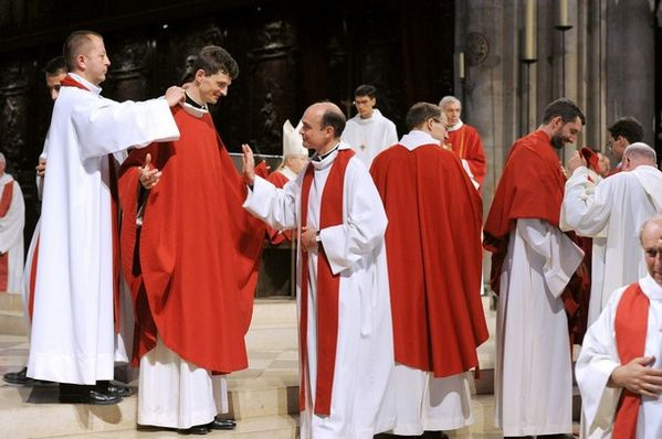 ceremony in Notre-Dame 3