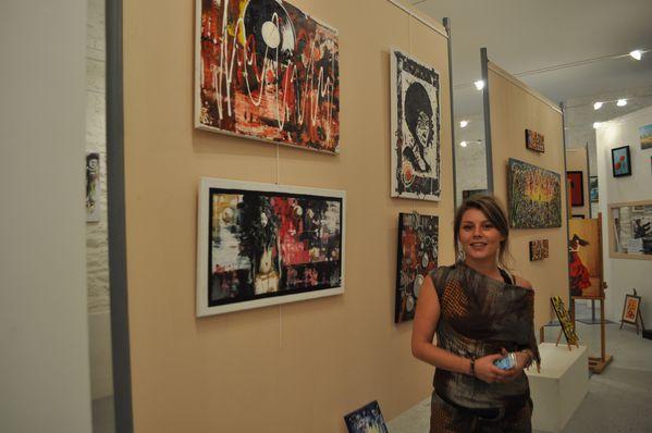 Vanessa et ses oeuvres