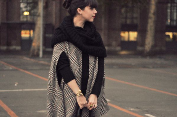 BLOG outfit hiver cape slim cuir (9)