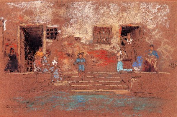 James Whistler dessins enfants