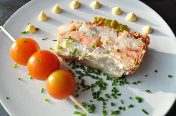 Terrine de poisson sans cr me blog cuisine avec du for Entree sans poisson