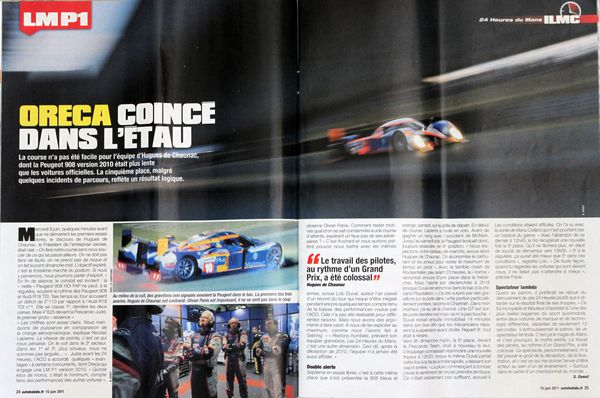 Auto hebdo-le mans-juin 2011