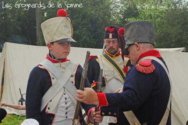 Commémoration des adieux de Napoléon ( 19 avril 2014 )-